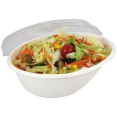 Contenitori ovali biodegradabili take away