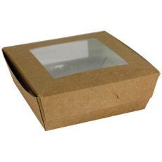 Scatola per alimenti da asporto con finestra 600 ml
