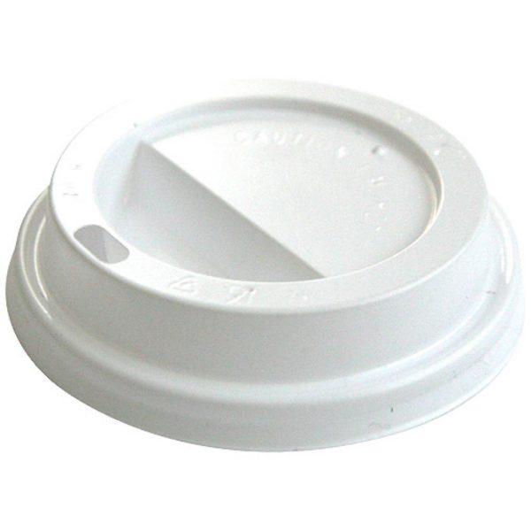 Coperchio a cupola in polistirolo per bicchiere di cartone 250 ml-per-asporto-bevande-calde