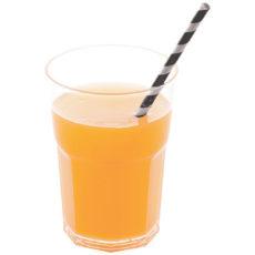 Bicchieri biodegradabili trasparenti