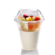 Coperchio-a-cupola-impilabile-biodegradabile-in-PLA-per-bicchieri-200-300-320-ml