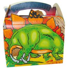 Cestino-per-pic-nic-in-cartoncino-stampato-a-colori-per-menù-bambini-modello-dinosauro-10BEDINOS
